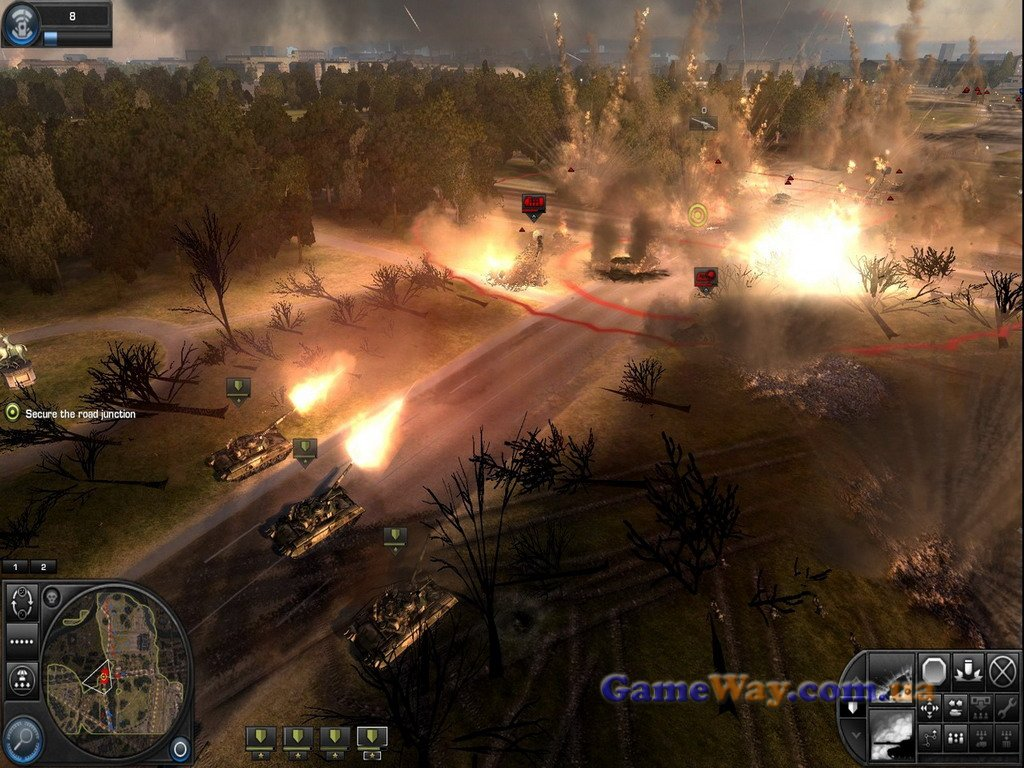World in Conflict Soviet Assault Complete Edition (2009/RUS/Repack by