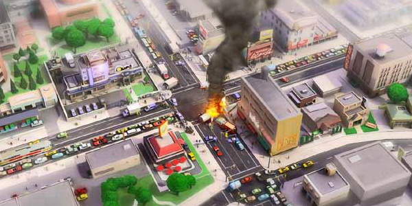Sim City 5 art