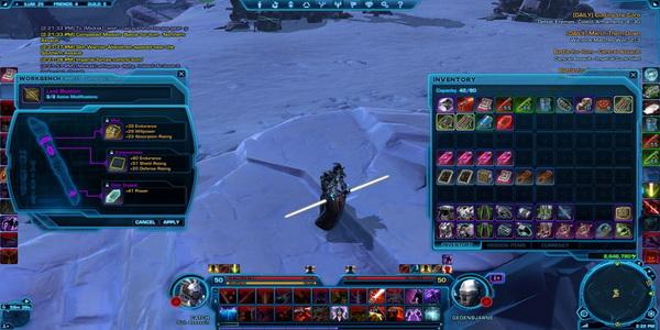 white saber