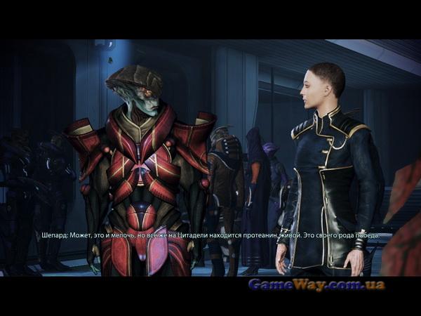 ME3 скриншоты геймплея