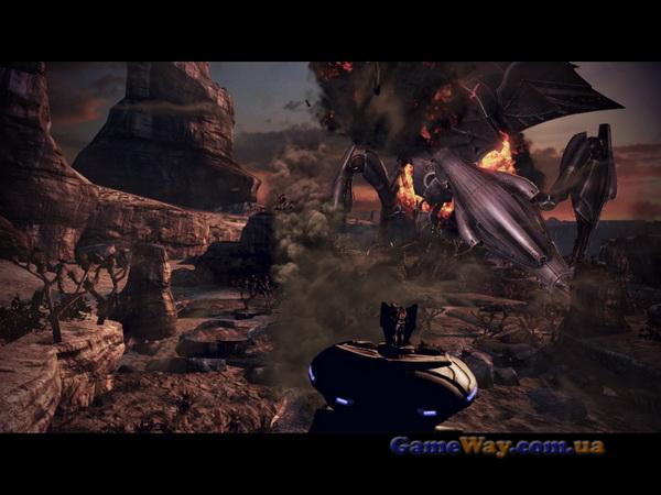 Скриншоты геймплея ME3