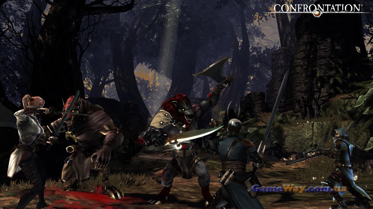 превью игры confrontation последняя битва