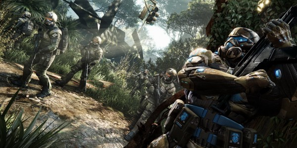 Crysis 3 скриншоты с Gamescom 2012