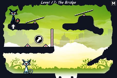 cat physics ios скриншоты геймплея