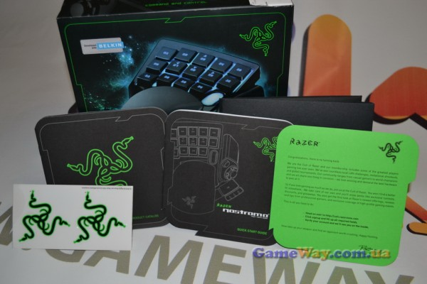 Миниклавиатура Razer Nostromо - обзор от GameWay