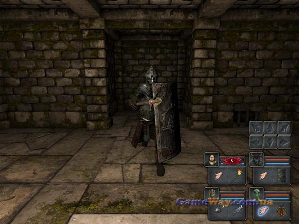Legend of Grimrock скриншоты геймплея