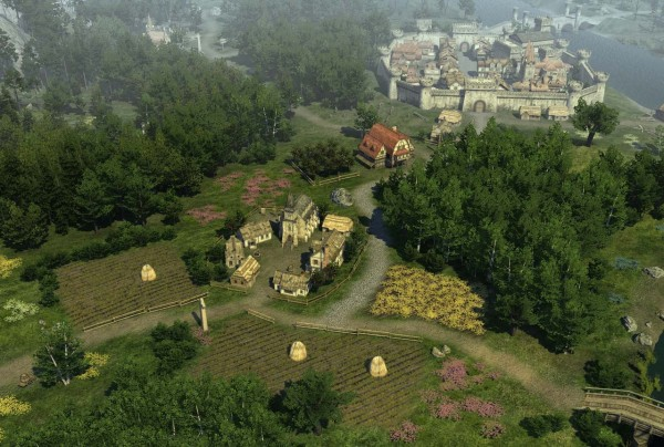 Legends of Eisenwald скриншот местности