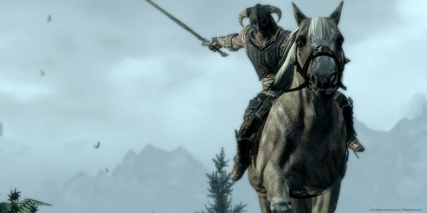 Skyrim Riding