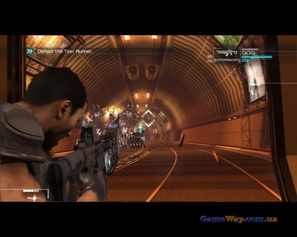 Скриншоты геймплея binary domain