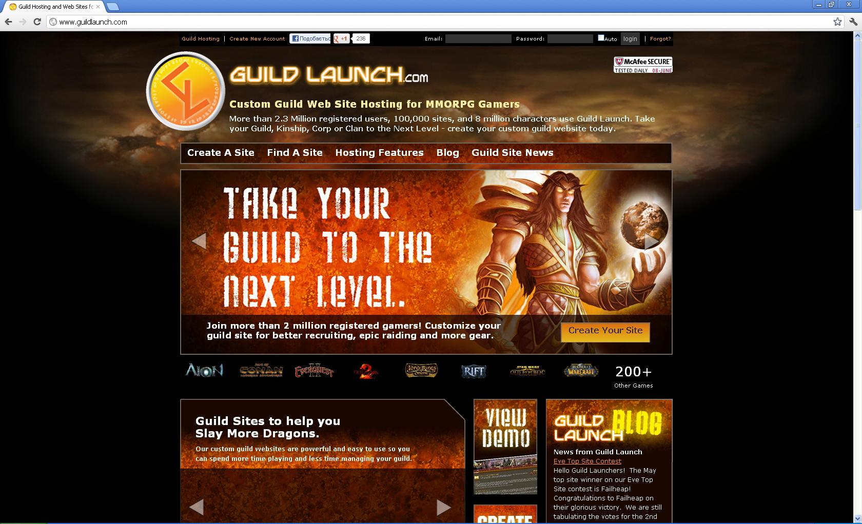 Создание бесплатных сайтов игровых кланов хостинг сервера dayz