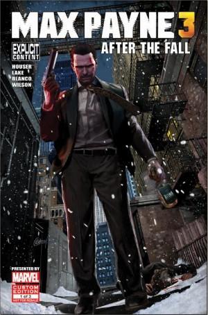 Макс Пейн 3 обложка комикса
