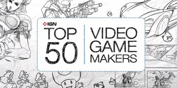 Top 50 game makers