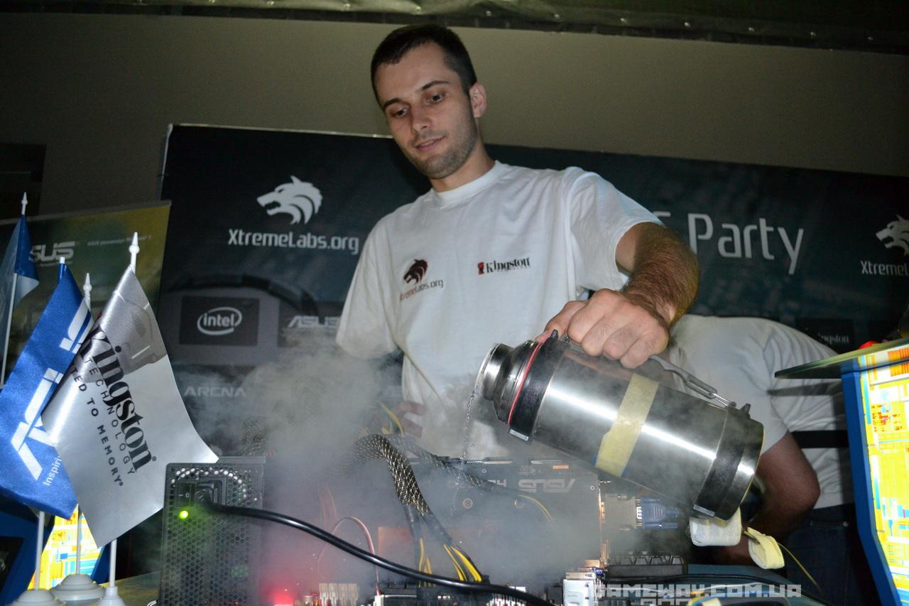 Xtreme OC Party в Киеве, репортаж от GameWay