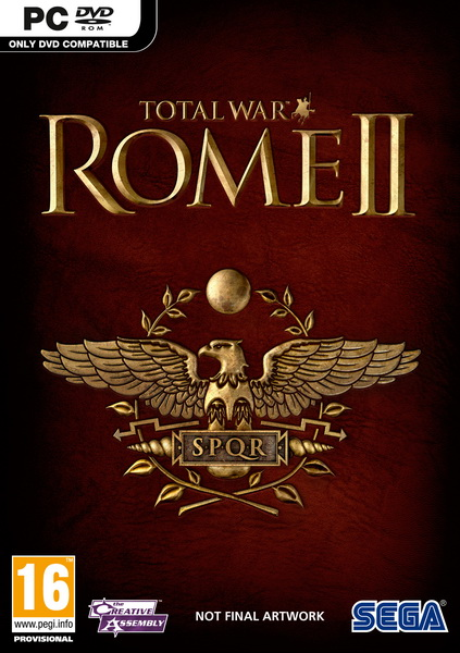 Rome 2 Total War обложка диска