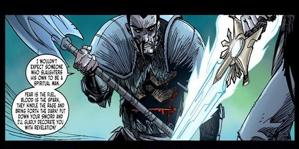 Diablo 3: Sword Of Justice, выпуски 1-4, обзор комиксов