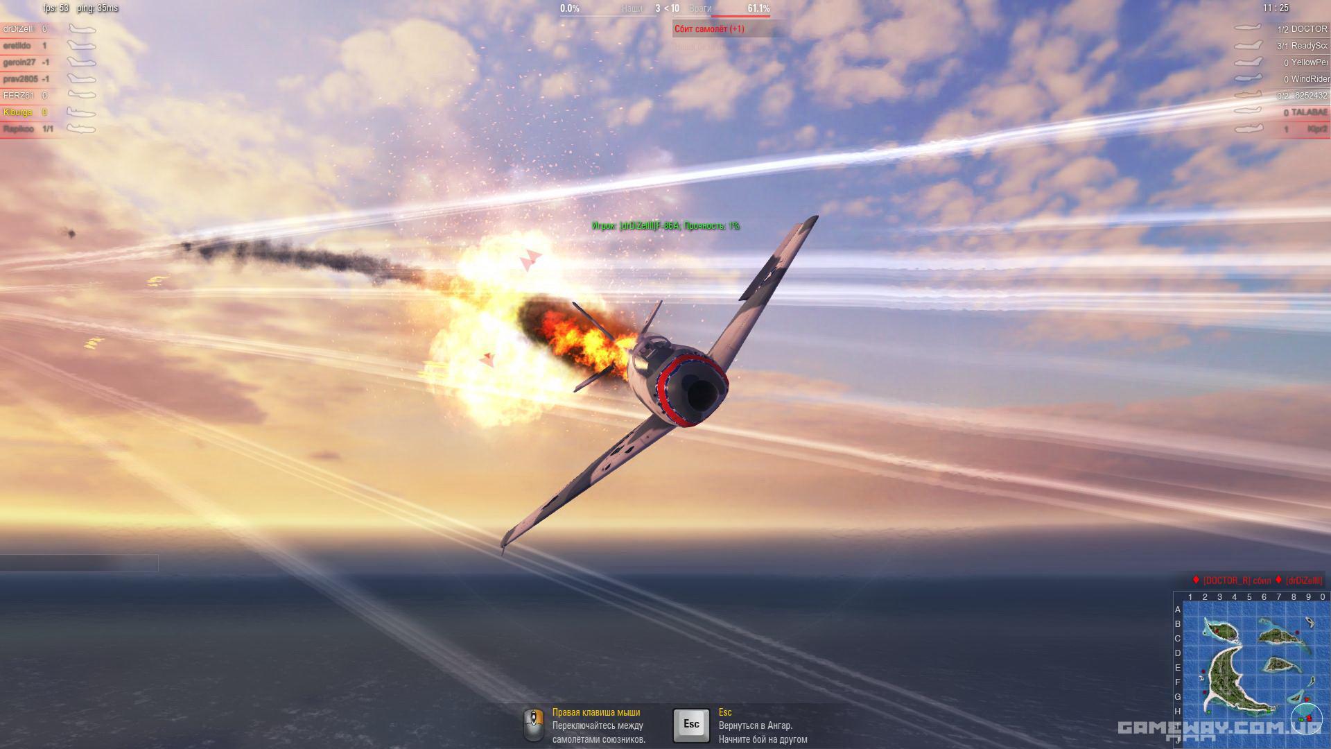 World of Warplanes - Превью, первый взгляд на игру | GameWay