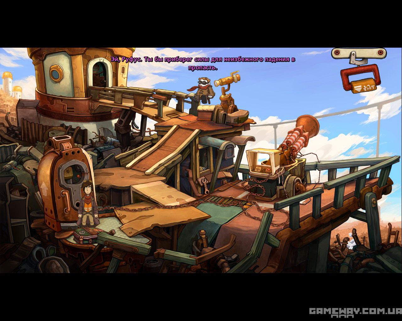 Deponia скриншоты геймплея, обзор игры