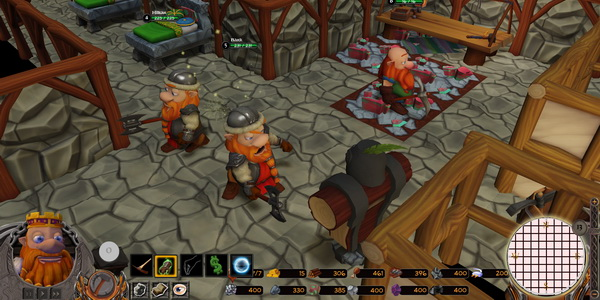 game of dwarves