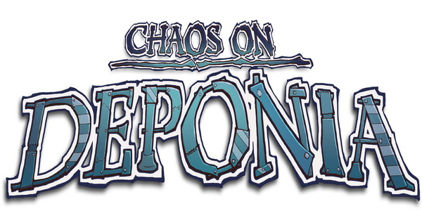 Chaos on Deponia обложка игры, арт