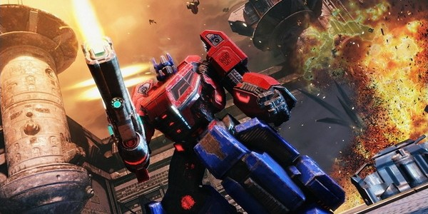 transformers fall of cybertron арт игры