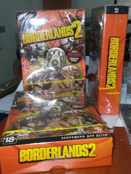 borderlands 2 уже в Wave Games