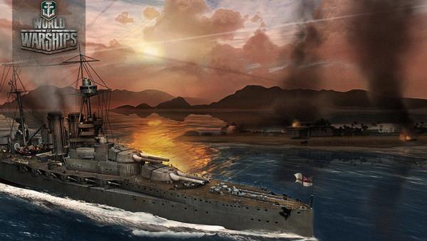 world of warships арт из игры