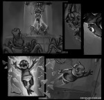 Арт, скетчи из игры Kiddy VS Universum