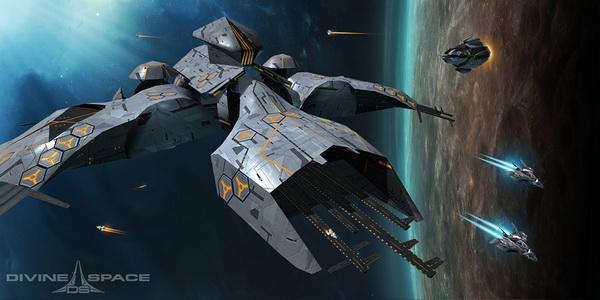 divine space арт игры, скрин