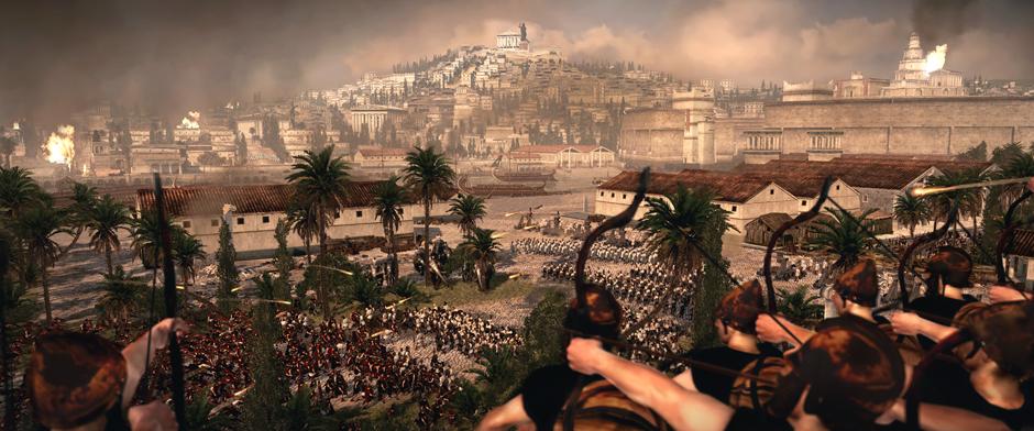 Новые скриншоты total war rome 2 октябрь 2012