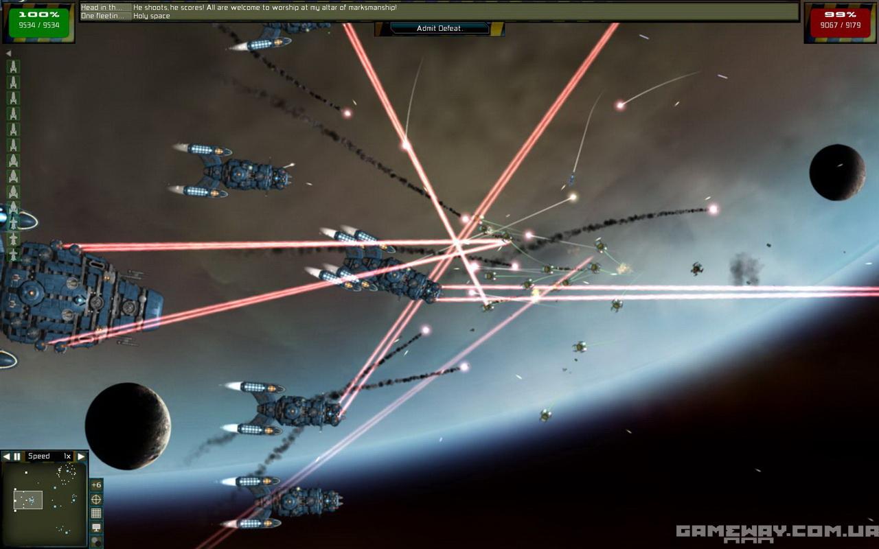 Gratuitous Space Battles скриншоты геймплея