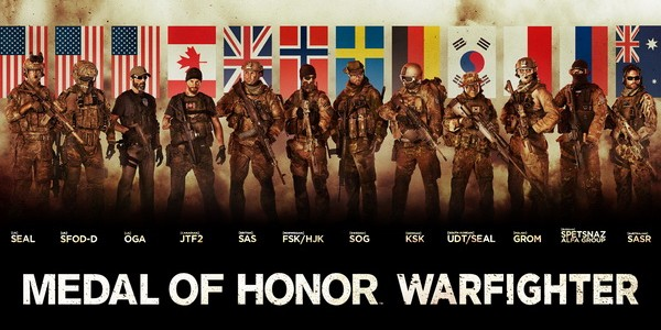 medal of honor warfighter art