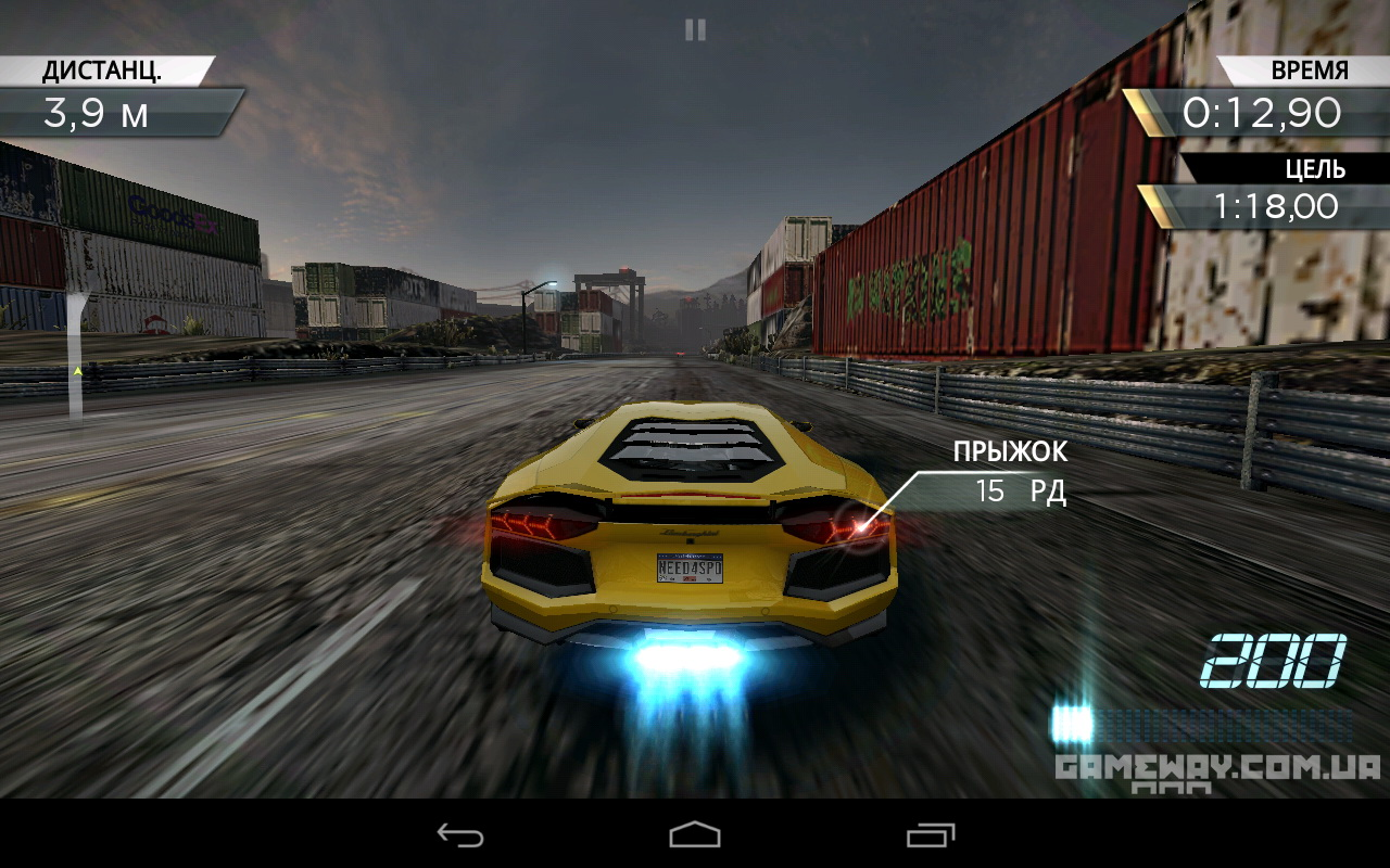 Need for Speed No Limits для Android - youtube.com