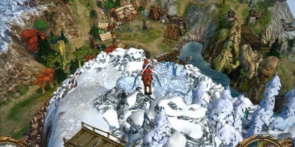 King's Bounty: «Воин Севера» скриншоты геймплея, скрины