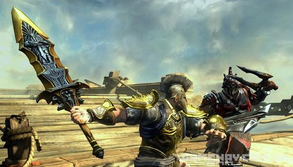Скриншоты, скрины бета версия God of War Ascension