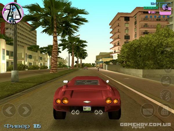 gta vice city скриншот игры на ios