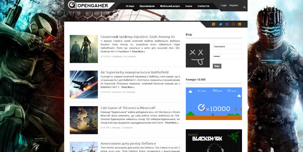 сайт opengamer