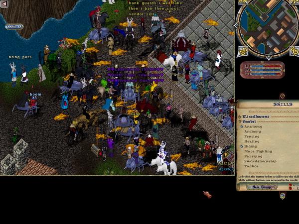 Ultima Online игра