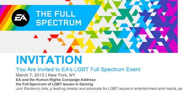 EA проведет специальную конференцию против гомофобии в играх