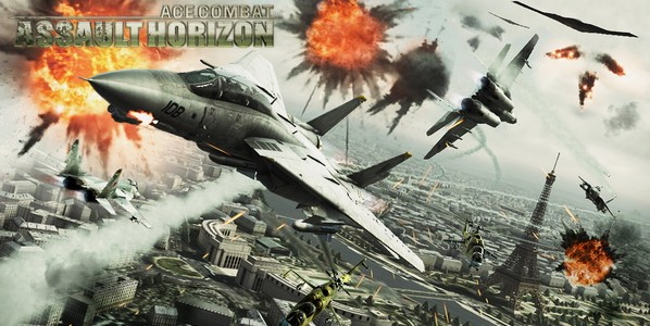 Арт игры Ace Combat Assault Horizon