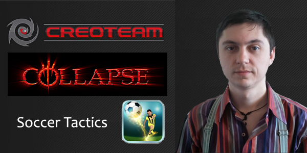 Андрей Костюшко из Сreoteam о будущем Collapse и новой игре Soccer Tactics - интервью для GW
