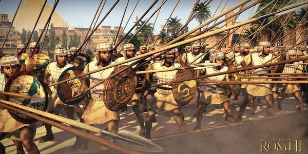 Египтяне - восьмая игровая фракция в Total War: Rome 2