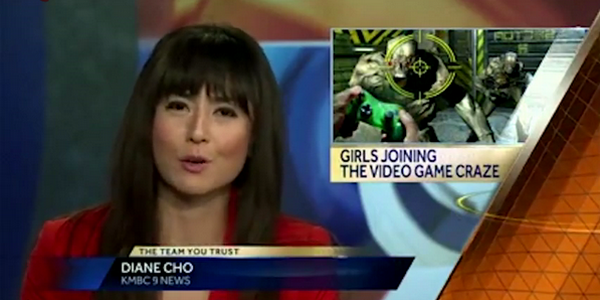 Девушки играют в игры? Да неужели! Игровая пресса разоблачает дремучее телевидение
