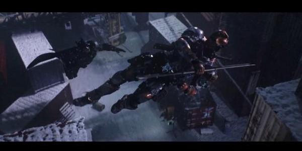 Битва Бэтмана с Дезстроуком