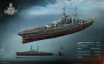 MMO World of Warships рендеры, render