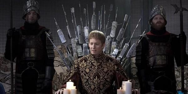 Пародия на game of thrones от NBC