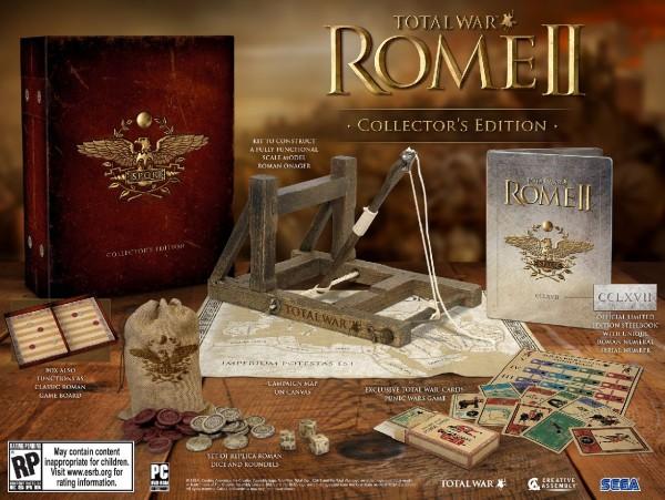 Коллекционное издание Total War: Rome 2