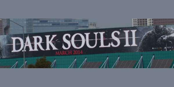 Реклама Dark Souls в Лоас Анджелесе