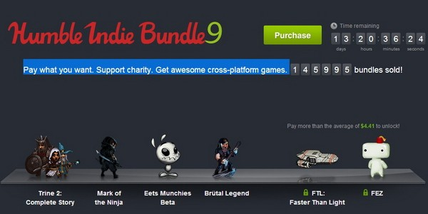 Стартовал Humble Indie Bundle 9