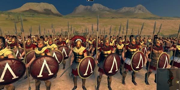 Скриншоты геймплея Rome 2