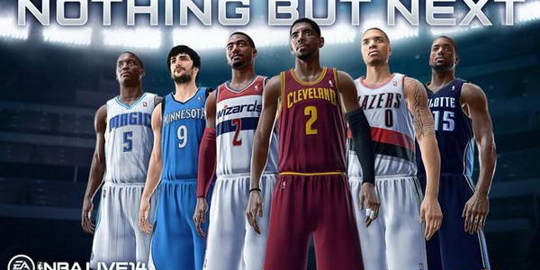 nba live 14 players